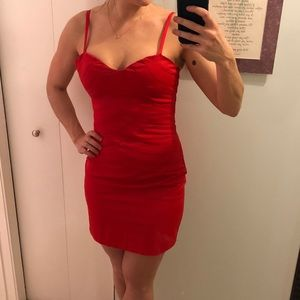 Walter by Walter Baker Red Cocktail Dress